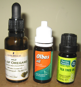 Essential oils for treating sinus infections